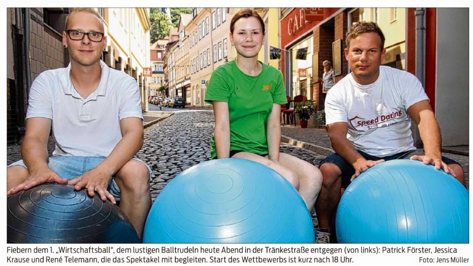 Wirtschaftsball in Blankenburg